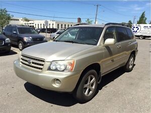 2003 Toyota Highlander AWD /  WITH LEATHER SEATS