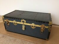 Vintage Luggage Trunk Chest