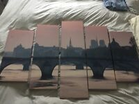 5 panel wall art for sale