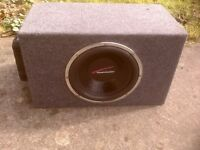 car sub with amp