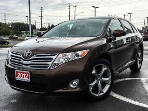 2012 Toyota Venza LEATHER+SUNROOF+LOW KMS!!!