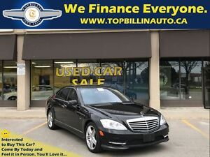 2012 Mercedes-Benz S-Class 550 4MATIC AMG Package, CLEAN CARPROO