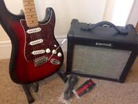 Standard Stratocaster, Fender Squier, Kustom Amp & Accessories