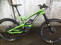 YT CAPRA CARBON COMP 2015 immaculate mtb mountain bike full suspension