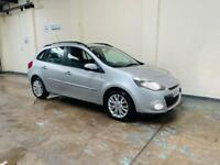 Renault Clio dynamique 1.2 TCE estate in stunning condition long mot February 22 no advisories fsh