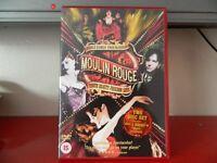 MOULIN ROUGE starring NICOLE KIDMAN & EWAN McGREGOR PLUS BONUS CD
