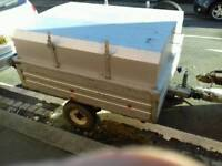 Galvanised Camping Trailer With Lid