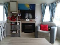 New luxury Static caravan for hire on Havens Perran Sands holiday park