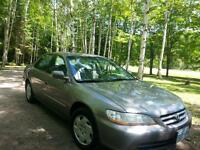 2001 Honda Accord For Sale