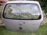 Vauxhall Agila 1.2, 2001 Silver Metallic hatchback door