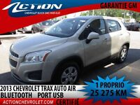 2013 CHEVROLET TRAX FWD AUTO AIR 1.4T BLUETOOTH