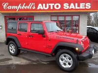 2013 Jeep WRANGLER UNLIMITED SPORT/UNLIMITED AUTO!! AIR CRUISE R
