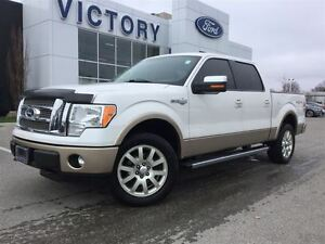 2011 Ford F-150 King Ranch,  Navigation, Super low KM!