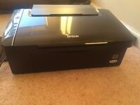 Epson Stylus SX110 Printer and Scanner. Excellent condition. hardly used.