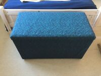 upholstered blanket box in excellent condition