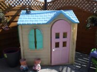 LITTLE TYKES PLAY HOUSE £125 OR MAKE AN OFFER NEED GONE