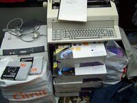 PRINTERS AND TYPEWRITER BUNDLE