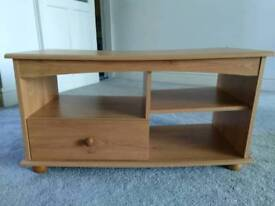 Wooden TV Unit Side Table Bedside Cabinet Storage Shelf