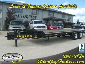2014 Big Tex Trailers 102' X 20'+5 Deck Over Tandem Axle Trailer