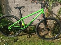 Commencal maxmax dirt jump bike
