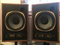 Tannoy speakers (little gold monitors - very rare) for sale ( 2 identical speakers)