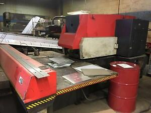 Amada Aries 245 CNC Turret Punch