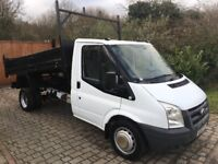 Ford transit tipper 100t350 2008 113,000 miles direct from bt 1 owner no vat