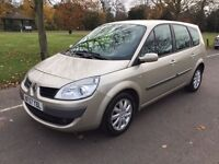 2007 Renault Grand Scenic 2.0 VVT Dynamique 5dr Automatic 7 Seater Low Mileage @07445775115