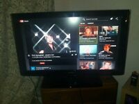 samsung 50 inch tv HD with stand good condition with remote too ASAP SELL