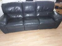 Sofa 3 seater recliner