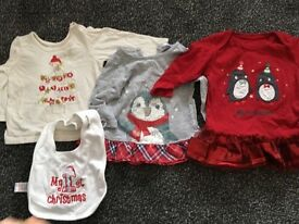 Christmas baby bundle 3-6 months
