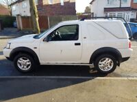 LAND ROVER FREELANDER TD4 CONVERTIBLE WHITE 10 MONTHS MOT STARTS AND DRIVES GREAT VERY SMOOTH MAY PX