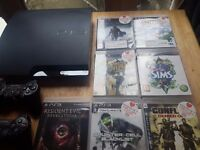 PS3 320gb + TV32inch + DVD player+ Air Antenna 200 channels
