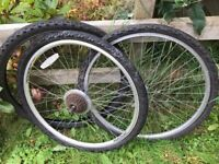 """26"""" Mountain Bike Wheels and Tyres"""