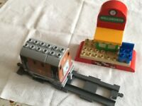 Duplo: Toby the Tram Engine with Wellsworth station