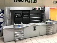 Kiosk counter