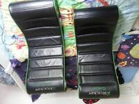 two XRocker gaming chairs