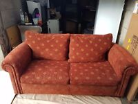 Two seater coach sofa