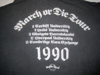 Motorhead 1990 British Tour T-Shirt. As Rare as Hens' Teeth. £299.00 ono