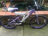 Girls mountain bike really nice condition