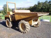 Site Dumper Winget 4B3000 4 wheel drive £1600 ono