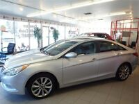 Silver 2013 Hyundai Sonata SE Sedan - 6 Speed A/T - 39,860 KMs