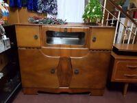 Vintage Deco Cocktail Cabinet