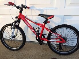 Carrera Blast Junior Mountain bike - Used bu in very good condition