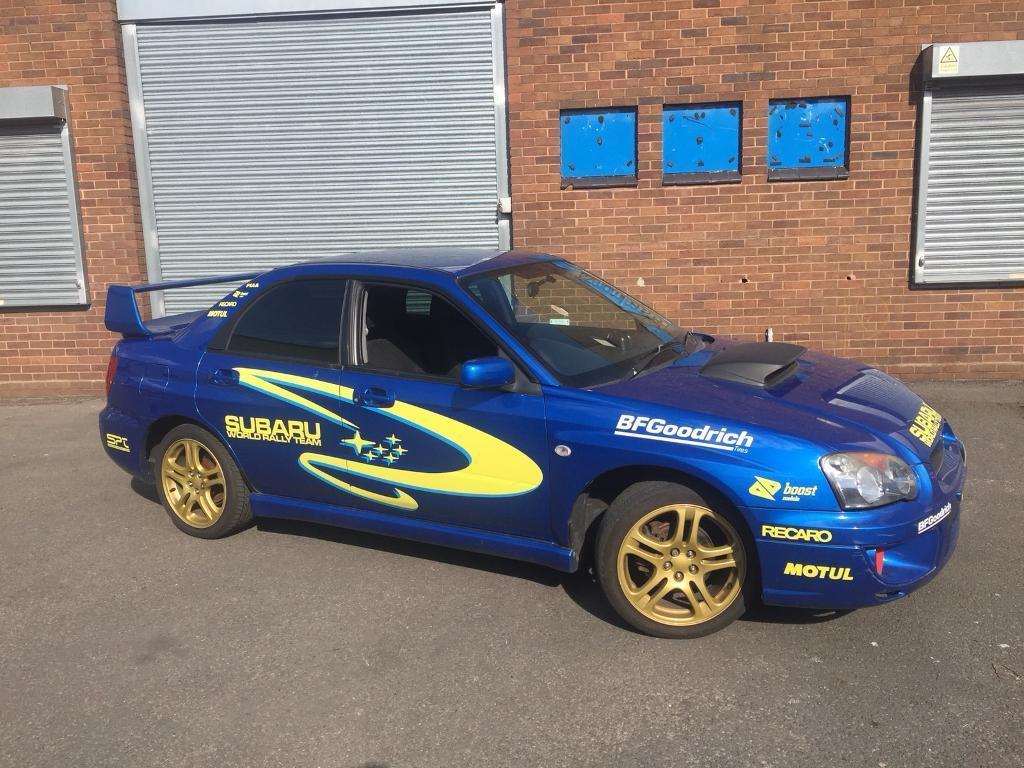 2005 Subaru Impreza 2.0 WRX Turbo full replica 180BHP full rally/WRC ...