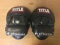 Title Platinum Boxing Pads Mitts Brand New Unused