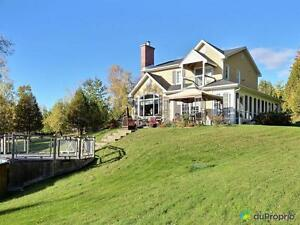 445 000$ - Maison 2 étages à vendre à Canton-de-Hatley
