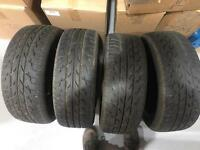 4 Ford Fiesta wheels with Brand new tyres, need gone asap