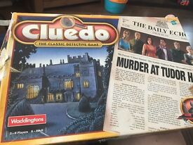 Cluedo - The classic detective game