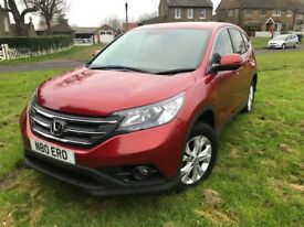 Diesel Honda CRV 1.6 manual,Honda FSH, 1 owner, last serviced by Honda in January, very lovely car,